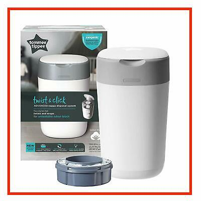 Tommee Tippee Sangenic Nappy Twist & Click Bin Disposal System Refill Cassette