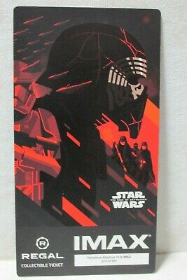 Star Wars Rise of Skywalker Regal Collectible Ticket week 3 Multi Avail MINT