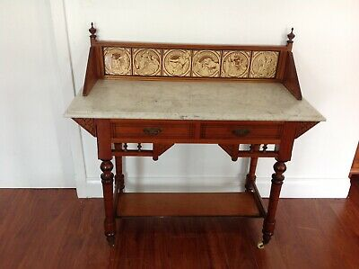Antique Marble Top Washstand/Sideboard