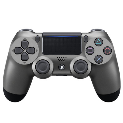 Official Sony PlayStation 4 DualShock 4 Wireless Controller Steel Black PS4