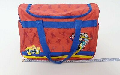 The Wiggles PVC Large Overnight Bag Original Wiggles Duffle Carry Kids Bag