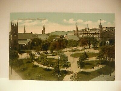 Vintage Dominion Square Montreal Postcard DB