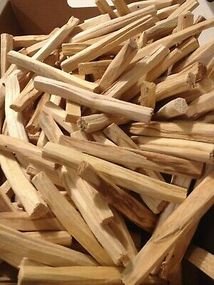 100 x PALO SANTO Sacred Wood Organic Smudge Sticks/FULL🌕 MOON Energy Infused