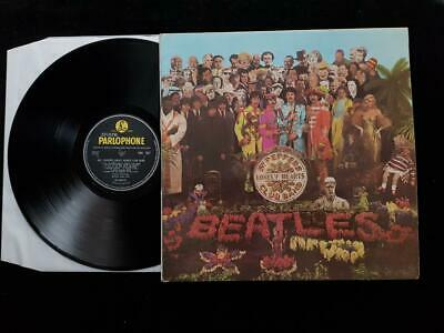 THE BEATLES Sgt. Peppers LP UK  1st Press MONO Parlophone PMC 7027 EX