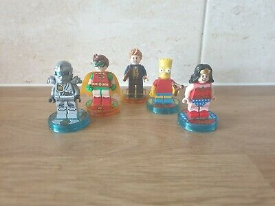 LEGO Dimensions Replacement Toy Tags + Minifigures - PS4/PS3/XBOX/Wii U