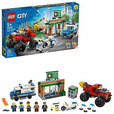 🚛Fast Shipping! {New 2020} Lego City 60245 Police Monster Truck Heist 362pc