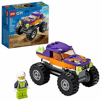 🚛Fast Shipping! {New 2020} Lego City 60251 Monster Truck Playset 55pc