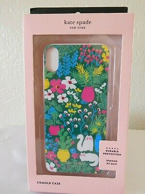 New Kate Spade Jeweled Garden Posy XS MAX Comold iPhone Case