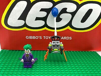 LEGO THE JOKER + jetpack & balloon minifigure DC BATMAN MOVIE set 70900 figure