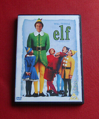 Elf - 2-Disc SE - Region 2 DVD - Will Ferrell, James Caan, Zooey Deschanel