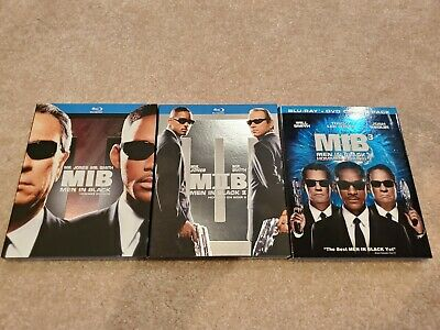 Men in Black Trilogy MIB + MIB 2 + MIB 3 Blu-ray