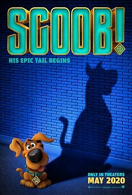 Scoob! Movie Poster (24x36) - Efron, Wahlberg, Seyfried, Shaggy, Scooby-Doo v1
