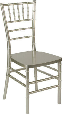 Champagne Resin Chiavari Chair - Commercial Quality Stackable Wedding Chair