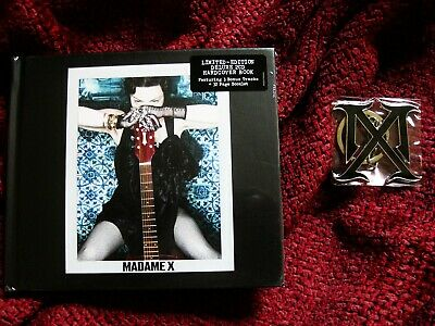 Madonna Germany Hologram Sticker Sealed Limited Edition Cd Madame X Promo Chain