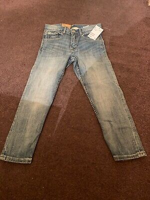Boys 5-6 Years Old Denim Slim Jeans New With Tags H&M