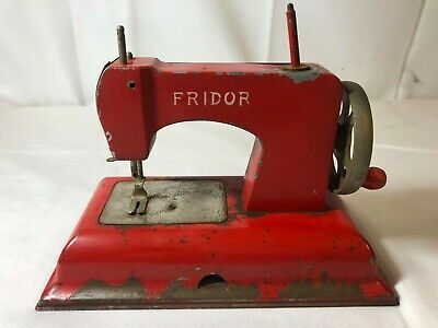 Vintage Miniature Fridor Sewing Machine - Made in Berlin - US Zone