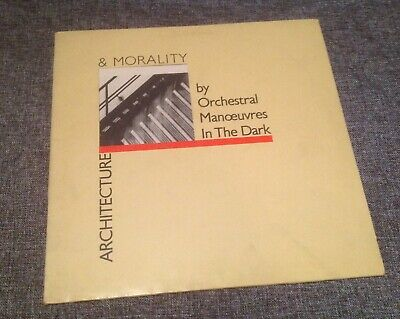 Orchestral Manoeuvres In The Dark - Architecture & Morality - UK 1st Press Vinyl