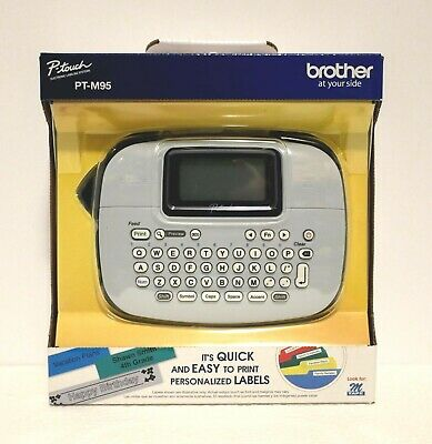BROTHER P-TOUCH LABELING SYSTEM LABEL PRINTER (PT-M95) *BRAND New in Retail BOX!
