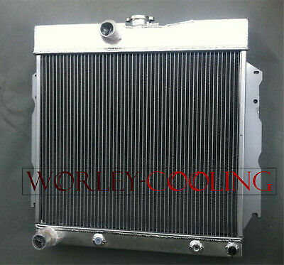 NEW 3Row Aluminum Race Radiator For 1968-1974 Dodge Charger 68 69 70 71 72 73 74