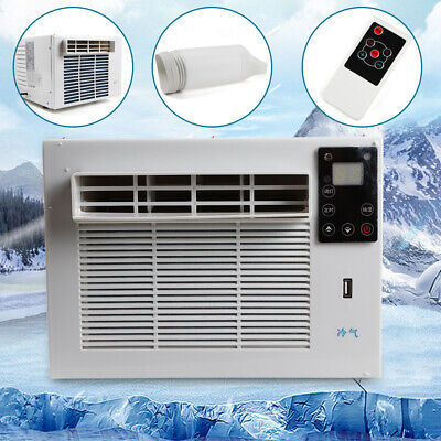 1100W Window Reverse Cycle Refrigerated Air Conditioner Heating Cooling Portable