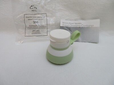 350 Princess House Specialty ON-THE-GO Salad Dressing / Condiment Container  NIB