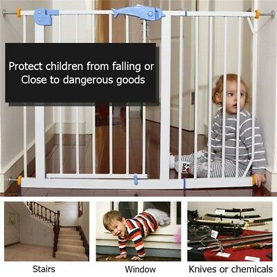 2pcs Baby Safety Stairs Gate Screws with Locking Nut Spare Part Accessories AU'