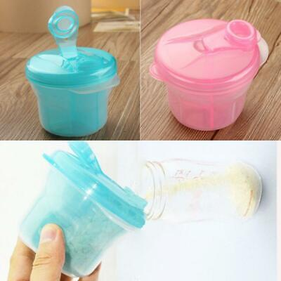 Infant Formula Pot Baby Container Dispenser 3 Compartment Milk Powder Box