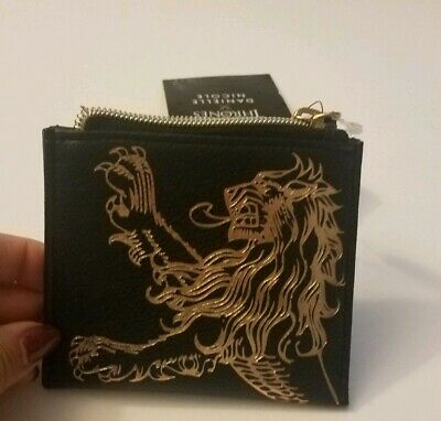 "Danielle Nicole Game Of Thrones House Lannister Coin Purse 4"" X 4.5"" New"