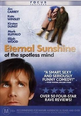 Eternal Sunshine Of The Spotless Mind : 1 Disc Version : NEW DVD :  t94