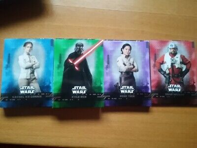 Topps Star Wars El Ascenso De Skywalker Cartas Paralelas De Colores