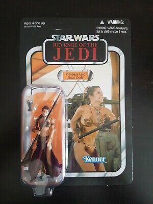 Vintage Collection Star Wars VC64 Slave Leia Unpunched Excellent (Revenge)