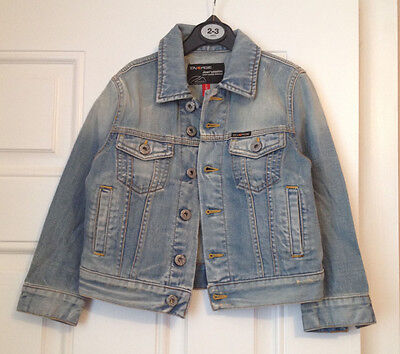 Fabulous SIXTY girls denim blue jacket 100% cotton Excellent cond. age 4 years