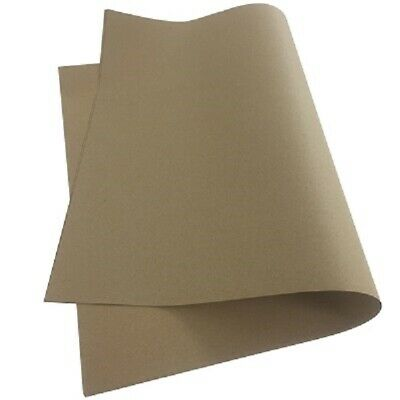 NEW QUALITY THICK BROWN KRAFT WRAPPING PAPER SHEETS 500x750mm *100% RECYCLABLE*