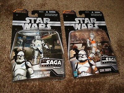 "Star Wars (Lot Of 2) ""Clone Trooper & Clone Trooper Fifth Fleet Security"""