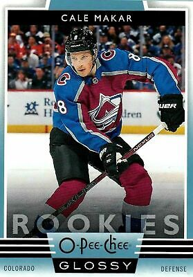 Cale Makar *Sp Blue Rc* 2019-20 Upper Deck O-Pee-Chee Glossy Rookies Avalanche