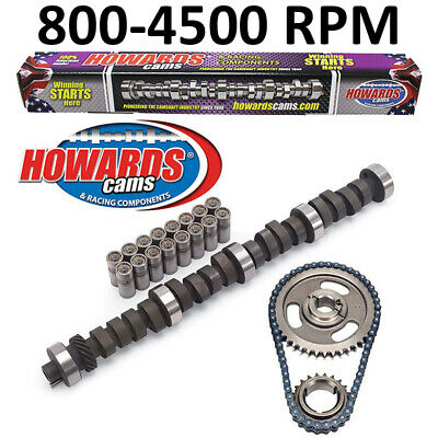 Howards Cams CL210021-12 Camshaft /& Lifter Kit Ford 289 302 .448//.480 259*//267*