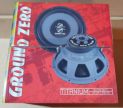 "Ground Zero Gztw 30Tx Brand New Old Model 12"" Subwoofer"