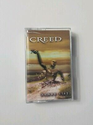 Creed Human Clay (1999 Wind-Up) Audio Cassette Tape