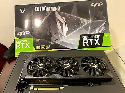 ZOTAC GeForce RTX 2080 AMP 8GB GDDR6 Gaming Graphics Card. Under Warranty!