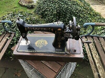 singer hand crank sewing machine 66k From 1913