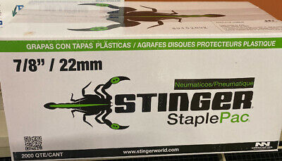 Stinger StaplePac Caps & Staples 0136044  - 1 Each
