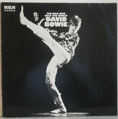 "DAVID BOWIE Man Who Sold The World LP 12"" RCA  Pinups Ziggy Scary Station Heroes"