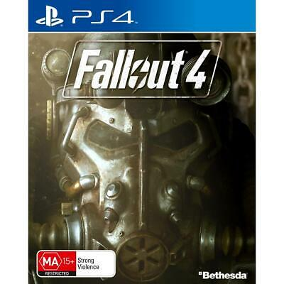 Bethesda Fallout 4 PlayStation 4 PS4 GAME BRAND NEW SEALED FREE POSTAGE