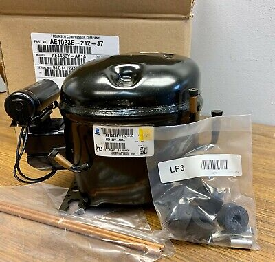 New Tecumseh Medium Temp Compressor AE4430Y-AA1A 1/4 hp R134A 115V