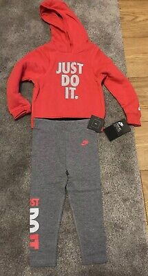 Nike Girls Hoodie Set Age 18-24 Months New