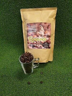 5KG ROCOCO ROBUSTA Coffee Beans Dark Roast Specialty Strong Smooth Taste ORGANIC