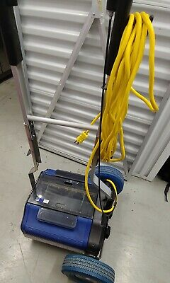 Duplex Floor Cleaning Machine, with multiple replacement brushes