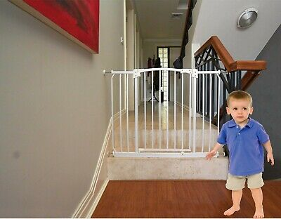 Baby Safety Extra Wide Pressure Mounted Gate(Suits openings 97-108cm)