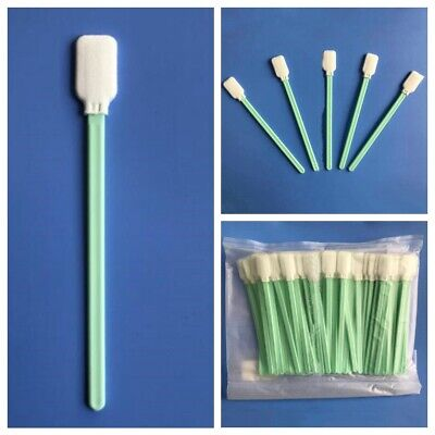 Cleaning Swabs Sticks Fit For Roland Mimaki Mutoh Epson Printer 100PCS