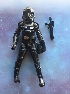 "Star Wars Black Series 6"" action Figure: #05 Imperial TIE Fighter Pilot (loose)"